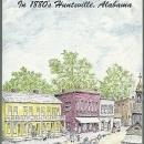 Built Upon the Fragments in 1880's Huntsville, Alabama by Sarah Huff Fisk 1st ed