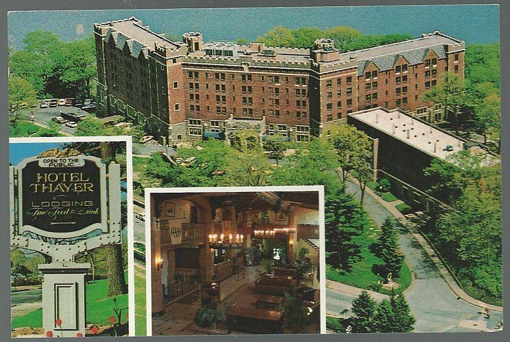 Unused Vintage Postcard of Hotel Thayer, West Point, New York