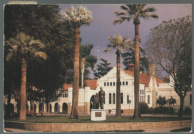 Postcard of A.K. Smiley Public Library, Redlands, California 1991