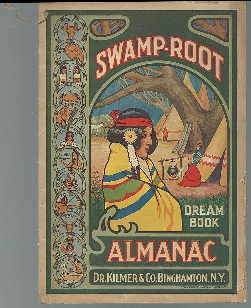 Swamp-Root Almanac 1935 Weather Predictions, Horoscopes, Dream Book, Facts