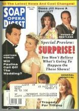 Soap Opera Digest July 20, 1993 Jake and Paulina Cover