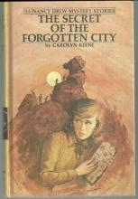 Secret of the Forgotten City by Carolyn Keene Nancy Drew #52 1975 Matte Yellow