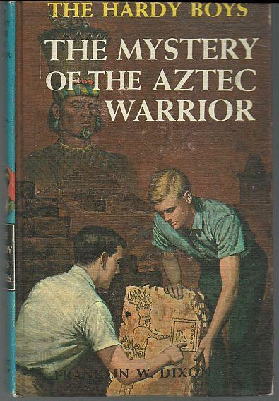 Aztec Warrior by Franklin Dixon 1964 #43 Matte Blue