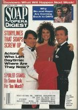 Soap Opera Digest April 17, 1990 Erica and the Montgomery Brothers Cover AMC