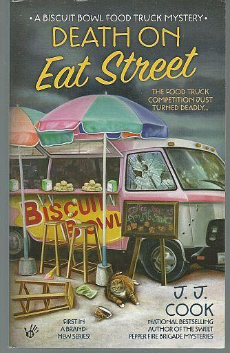 Lot of Two Biscuit Bowl Food Truck Cozy Mystery by J. J. Cook Eat St/Tuesday 1,3