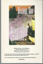 Bohemian Murders a Fremont Jones Cozy Mystery by Dianne Day 1997 Advance Review