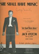 She Shall Have Music Jack Hylton and June Clyde 1935 Sheet Music