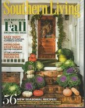 Southern Living Magazine October 2011 Decorate With the Bounty of Fall
