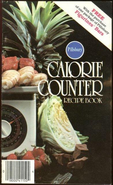 Pillsbury Calorie Counter Recipe Book 1981