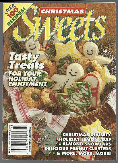 Christmas Sweets Edited by Susan Hankins Andrews 1988 Illustrated Recipes