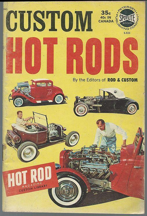 Custom Hot Rods 1963 Illustrated Magazine Model A Reconstruction/Alazan Coupe