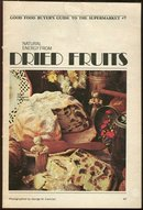 Natural Energy From Dried Fruits 1974 Good Food Booklet