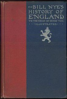 Bill Nye's History of England 1896 First Edition