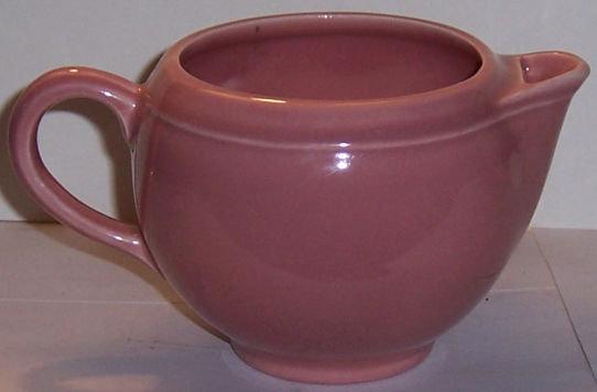 Vintage Vernon Kilns Pink Pastel Creamer