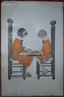 Jessie Willcox Smith Print Children Playing Checkers