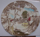 Sunday Morning by W. H. Grindley Small Transfer Plate