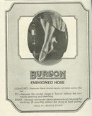 Burson Fashioned Hose 1921 Magazine Advertisement