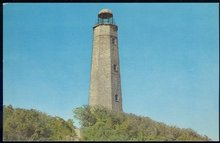 Postcard of Old Cape Henry Lighthouse Near Norfolk, Virginia