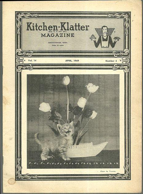 Kitchen Klatter Magazine April 1949  April Activities for the Gardener/Easter