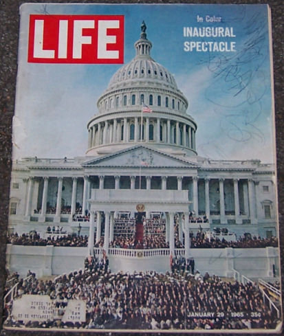 Life Magazine January 29, 1965 Inaugural Spectacle