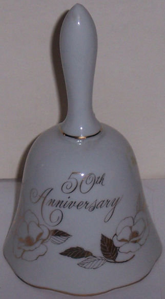 Japan Golden 50th Anniversary China Bell