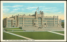 Postcard of Salt Lake High School, Salt Lake City, Utah