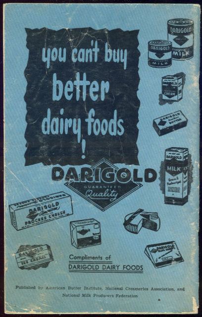 Recipes Royale Ways to Use Dairy Products 1951 Recipes
