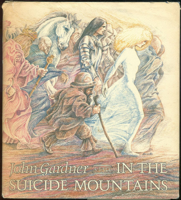 In the Suicide Mountains by John Gardner 1st edition DJ