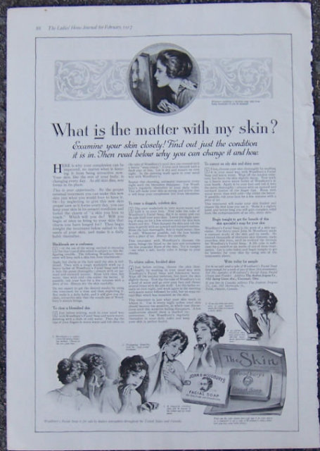 Woodbury's Facial Soap 1917 Magazine Advertisment