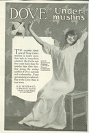 Dove Under-muslins and Nighgowns 1917 Advertisement