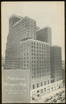Postcard of American Woman's Club, New York City