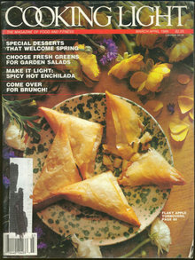 Cooking Light March/April 1989 Springtime Desserts