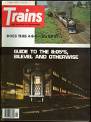 Trains Magazine June 1977 Railroad Commuters