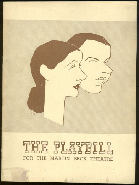 Playbill Lunt and Fontanne in The Pirate February 1943
