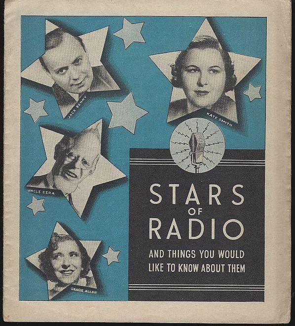 Stars of Radio and Things You Would Like to Know by Miles Laboratories Illus