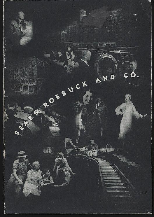 Sears, Roebuck and Co. Century of Progress Booklet 1934 with Center Fold Out