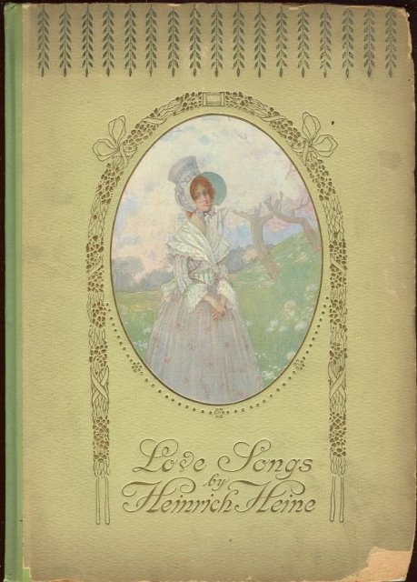 Love Songs by Heinrich Heine Color Illustrations