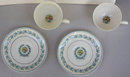 Two Myott Staffordshire Elegance Cups and Saucers