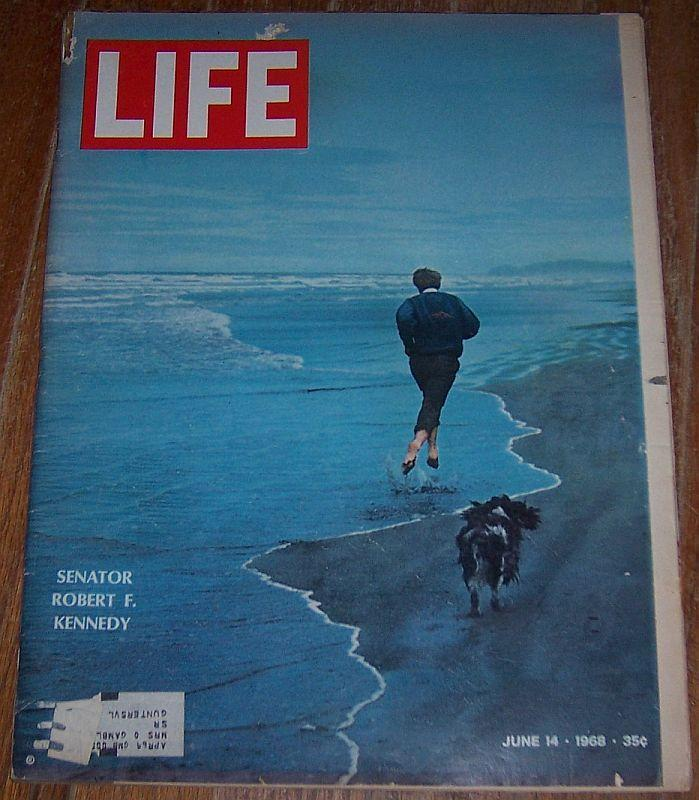 Life Magazine June 14 1968 Senator Robert F. Kennedy on cover