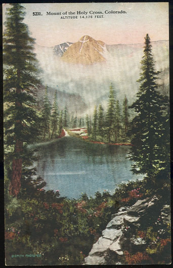 Postcard of Mount of the Holy Cross, Colorado