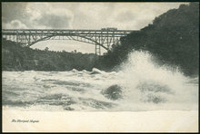 Postcard of The Whirlpool Rapids, Niagara Falls, New York.
