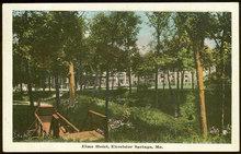 Postcard of Elms Hotel, Excelsior Springs, Missouri