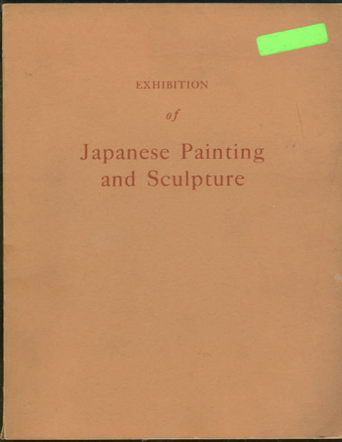 Exhibition of Japanese Painting and Sculpture 1953