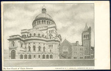 Postcard of The First Church of Christ Scientist Boston