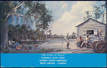 Postcard of Stephen Foster Memorial, White Springs, Florida