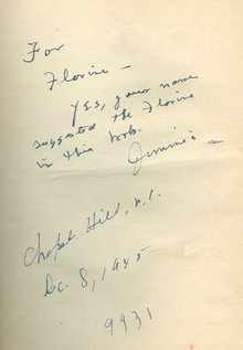 Gauntlet Signed by James Street 1945 Southen Fiction
