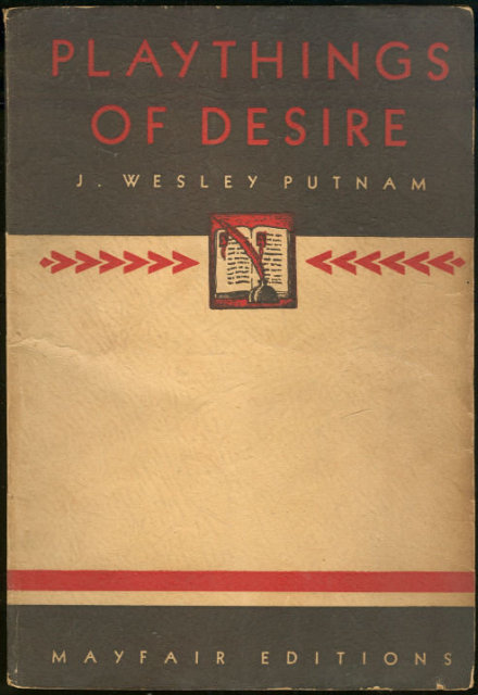 Playthings of Desire by J. Wesley Putnam Mayfair Paperback