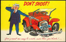 Advertising Postcard of Your Used Car, Don't Shoot