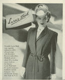 1944 World War II Lassie Maid Magazine Advertisement