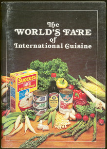 World's Fare of International Cuisine 1984 Cookbook